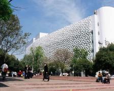 Fatada dubla care filtreaza aerul propusa pentru spitalul Manuel Gea Gonzalez