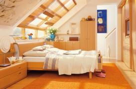 Dormitoare si birouri la mansarda