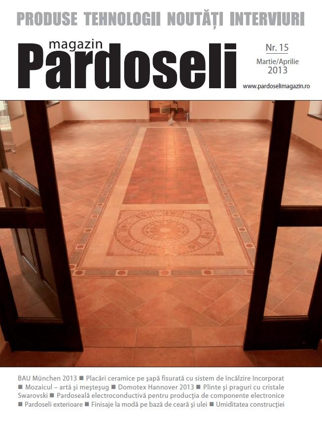 A aparut revista Pardoseli Magazin - Nr. 15