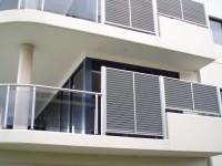 Sistemul complet pentru balustrade din aluminiu eloxat