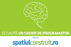 Se caută un creier de programator pentru spatiulconstruit.ro!
