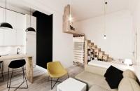 Un apartament ingenios amenajat în doar 29 de metri pătraţi