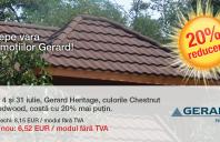 Tigla GERARD: reducere de 20% pentru profilul Heritage pana la 31 iulie 2013