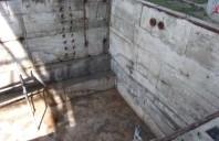 Hidroizolarea unui bazin de retentie a apelor pluviale