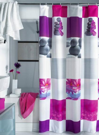 Perdeaua pentru baie, o solutie ieftina si estetica