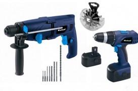 Trei scule electrice pentru trusa de unelte de acasa