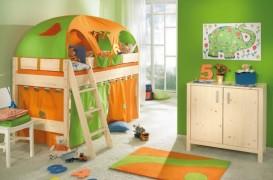 Decoruri textile in camera copiilor
