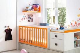 Camera bebelusului. Cum te descurci intr-un apartament mic?