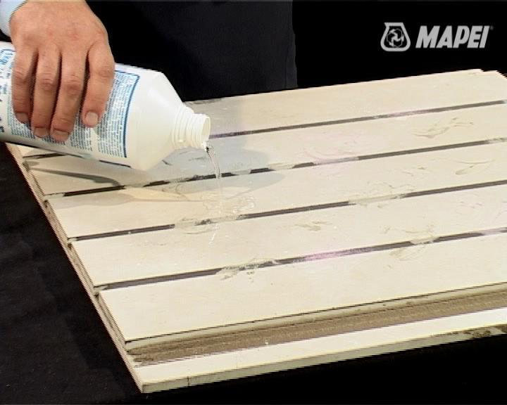 Curatarea placilor ceramice dupa montaj