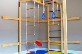 Coltul de gimnastica pentru copii