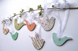 Ornamente simple, in asteptarea primaverii