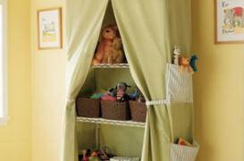 Camera copiilor si cortul cu carti