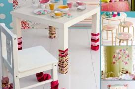Zece idei decorative originale pentru camera fetitelor