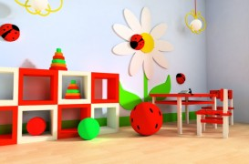 20 de idei cu spatii de joaca pentru copii