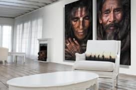 Afise si tablouri, pentru un plus de stil contemporan in livinguri si spatii de zi