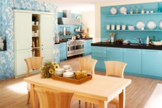 Bucătării albastre