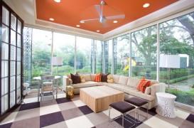 Culori neasteptate pentru tavan