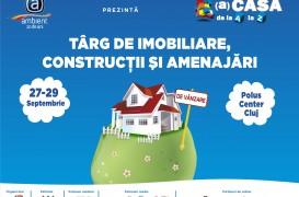 Weekendul 27 - 29 septembrie aduce cel mai important eveniment imobiliar al anului Targul Acasa de