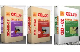 CELCO si-a extins gama de adezivi si mortare uscate