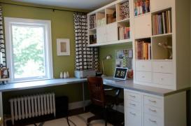 Idei pentru birourile de acasa, in spatii mici
