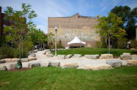 Parcul 567, parte integranta a proiectului de regenerare Bloomingdale Trail