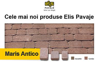 Afla care sunt cele mai noi produse de pavaj Elis Pavaje