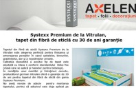 Systexx Premium de la Vitrulan, tapet din fibra de sticla cu 30 de ani garantie