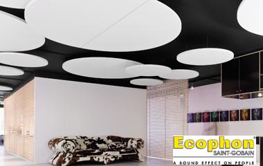 Descoperiti panourile Ecophon Solo - design original si performante acustice