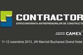 Exemple de succes din industria constructiilor la CONTRACTOR 2013 - lideri ai spatiului construit, la Bucuresti
