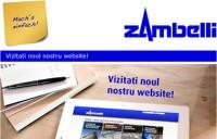 Lansarea noului site Zambelli