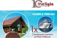 Profita de 20% reducere la Metigla si poti castiga o croaziera in 2 pe Marea Mediterana