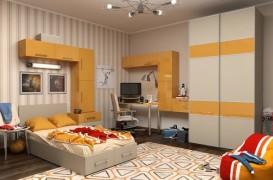 Culoare si simplitate pentru camera copilului