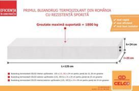CELCO lanseaza prima gama de buiandrugi termoizolanti din Romania