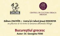 Lansarea albumului bilingv Bucurestiul Grecesc