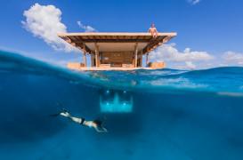 Primul hotel subacvatic din Africa