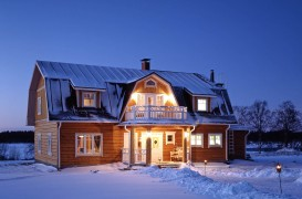 Vise de vacanta, in tara lui Mos Craciun: case si peisaje din Laponia