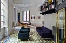 Arhitectul britanic David Kohn prezinta interiorul anului 2013 in aprilie, la Bucuresti