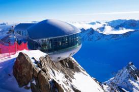Volumetrie care reproduce formele reliefului alpin din Austria