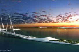 Un nou pod marca Santiago Calatrava propus pentru Doha, Qatar