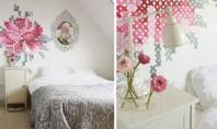 Ornamente pentru pereti pe care le poti face acasa Nu trebuie sa fii neaparat un pictor