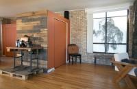 Un apartament intreg, intr-o singura incapere, pentru un cuplu nonconformist