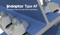 Sisteme de fixare LINDAPTER - Girder Clamp Tip AF Elementele de fixare LINDAPTER Tip AF au