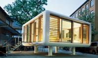 LoftCube o casa de vacanta prefabricata si usor de transportat Volumul propus de Werner Aisslinger se