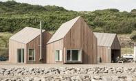 Interventie in portul Hammerhavn pentru iubitorii de sporturi nautice Echipa Cubo Arkitekter a proiectat aceasta serie