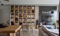 """Idei pentru """"compartimentarea"""" spatiilor mici Pentru apartamentele cu suprafete reduse sau cele tip studio un perete"""