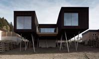 Casa S o locuinta pe picioroange Biroul austriac de proiectare Hammerchmid Pachl Seebacher Architekten a realizat