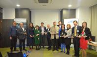 Castigatorii concursului de piscine Premiile APPW 2014 Joi 20 martie in sala Lipscani a Hotelului Cismigiu