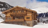 O cabana rustica in care s-au inserat niste detalii eclectice Cabana din Montana realizata de arhitectii