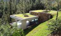 Casa in mijlocul naturii Proiectul pentru casa RD din Jarabocoa Republica Dominicana a fost realizat pe