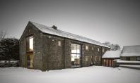 Un vechi hambar din Yorkshire transformat in locuinta moderna Echipa de la Snook Architects a avut